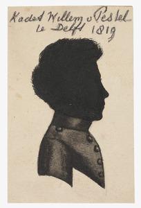 Portret van Jhr. Wilhelm Friedrich von Pestel (1802-1880)