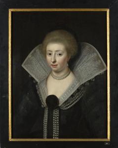 Portret van een vrouw, mogelijk uit de familie Wassenaer