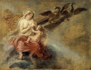De schepping van het heelal (Ovidius, Metamorfosen, I, 168-171)