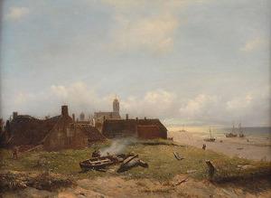 Gezicht op Katwijk aan Zee