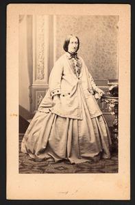 Portret van mw. Van Doorn