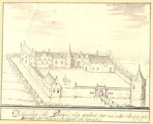 Het huis Dukenburg bij Nijmegen, 1619