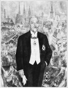Portret van Willem de Vlugt (1872-1945)