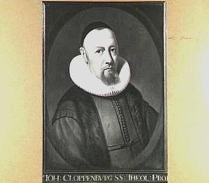 Portret van Johannes Cloppenburgh (1592-1652), hoogleraar Godgeleerdheid