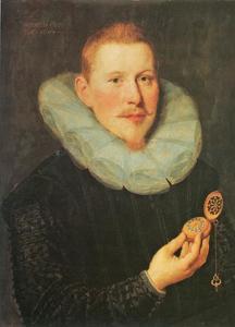 Portret van Rudolf Amsinck (1577-1636)