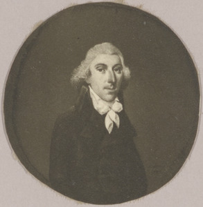 Portret van een man, mogelijk Abraham van Doorn (1760-1814)