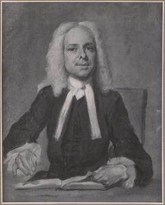 Portret van Johan van Vliet (1682-1750)