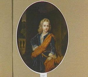 Portret van Willem Bentinck, heer van Rhoon, Pendrecht and Terrington en eerste graaf van Norfolk, als kind