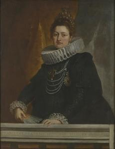 Portret van aartshertogin Isabella Clara Eugenia (1566-1633)
