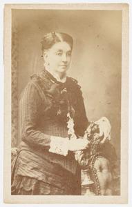 Portret van Geertruida J.E. Lemmers Kulenkamp