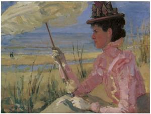 Portret van Dorothea Dina Estella Hijmans (1864-1899)
