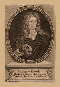 Portret van Frederick Ruysch (1638-1731)