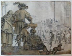 Christus door Pilatus aan het volk getoond (Ecce Homo) (Johannes 19:4-6)