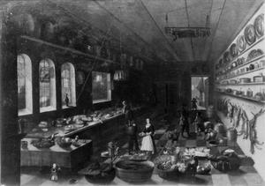 Interieur van een keuken