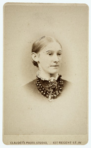 Portret van Marie Anne Tilanus (1858-1917)