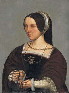 Portret van Elisabeth Doncke, echtgenote van Cornelius de Schepper