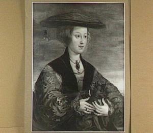 Portret van koningin Anna van Hongarije (1503-1547)