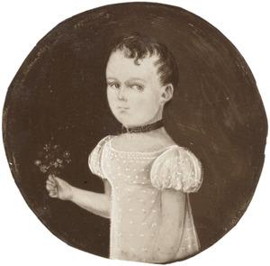 Portret van Catharina Johanna van Akerlaken (1817-1890)