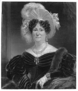 Portret van Ignatia Vollenhoven (1785-1836)