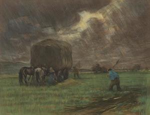 Hooien in de storm