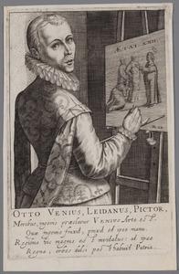 Portret van Otto van Veen (1556-1629)
