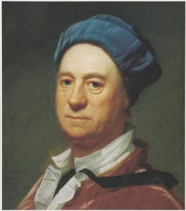 Zelfportret van Dominicus van der Smissen (1704-1760)