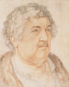 Portret van de schelpenverzamelaar Jan Govertsz. van der Aer (1545-1612)