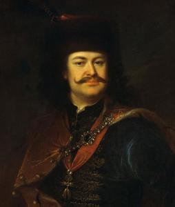 Portret van Prins Ferenc Rákóczi II (1676-1735)