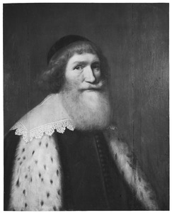 Portret van Cornelis Haga (1578-1654)