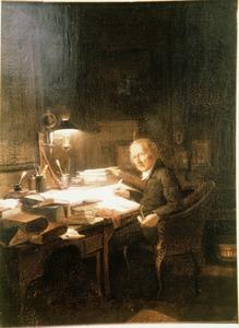 Portret van waarschijnlijk Johan Diederik van der Brugghen (1774-1851)