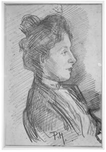 Portret van Rijmpje Kessler (1878-1957)