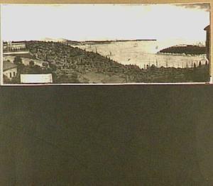 Gezicht op Constantinopel en het Serail vanuit de Hollandse ambassade