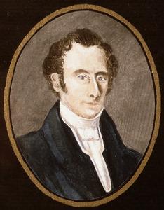Portret van Ericus Gerhardus Verkade (1801-1835)