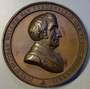Portret van Johan Willem van Vredenburch (1782-1849)