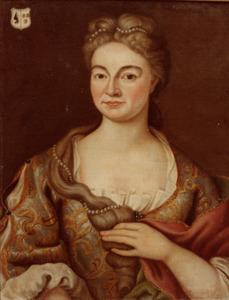 Portret van Gertrudis Henrica Elisabeth van der Heyden (?-1765)
