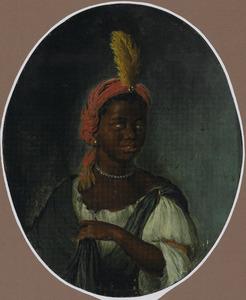 Portret van een jonge Afrikaanse vrouw