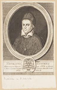 Portret van Hendrik van Cuyck (1546-1609)