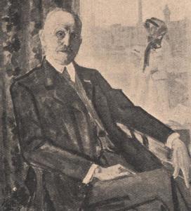 Portret van Franciscus Bernardus Deurvorst (1857-1931)