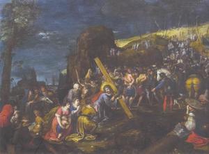 De  kruisdraging van Christus