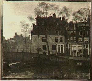 Hoek Kromme Waal en het St Anthonieshuis, Amsterdam