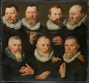 Het Amsterdamse korporaalschap van kapitein Pieter Dircksz Hasselaer en luitenant Jan Gerritsz Hooft (?)