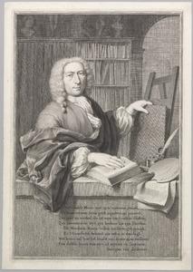 Portret van Frans van Mieris II (1689-1763)