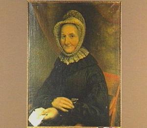 Portret van Maria Geveke Pieters