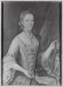 Portret van Jane Garrou (1734-1826)