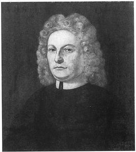 Portret van Joannes van den Steen (1676-1748)