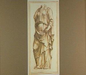 Antiek beeldhouwwerk