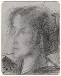 Portret van Miek Janssen (1890-1953)