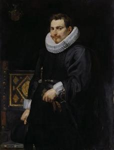 Portret van Jan Vermoelen (1589-1656), opperbevelhebber van de Spaanse vloot