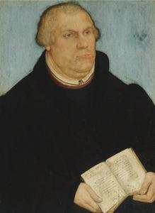 Portret van Maarten Luther
