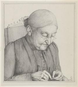 Portret van Nicoline Johanna Cornelia Bake (1820-1898)